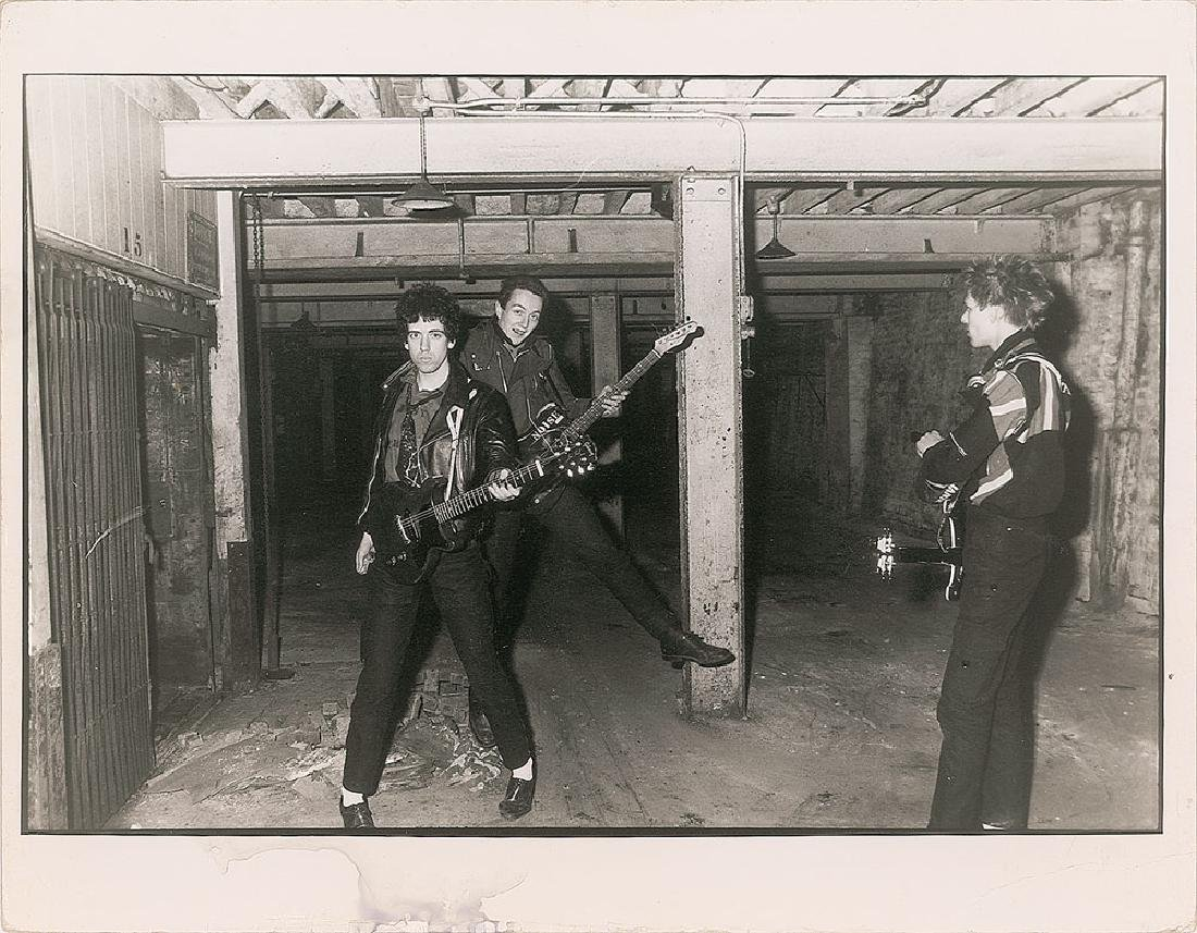 The Clash Oversized Photograph