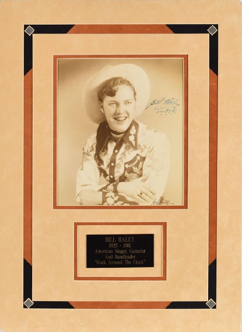 Bill Haley Signed Photograph