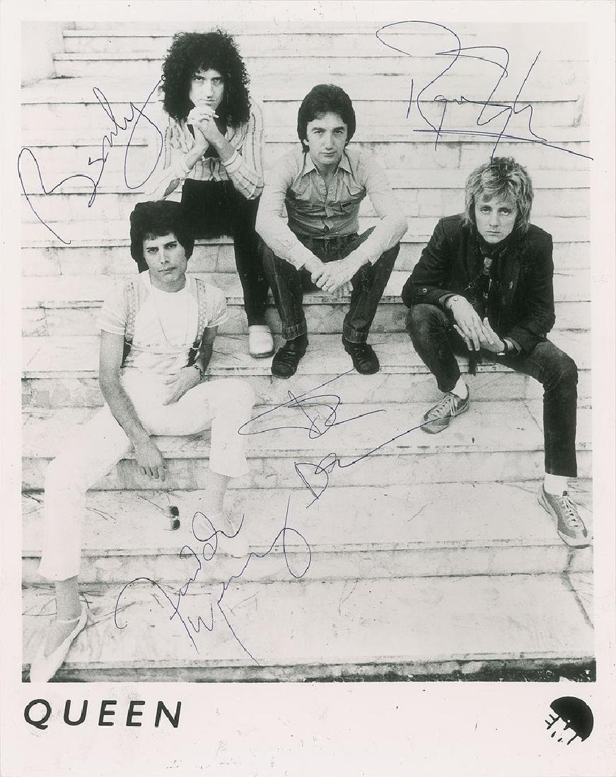 Queen Signed Photograph