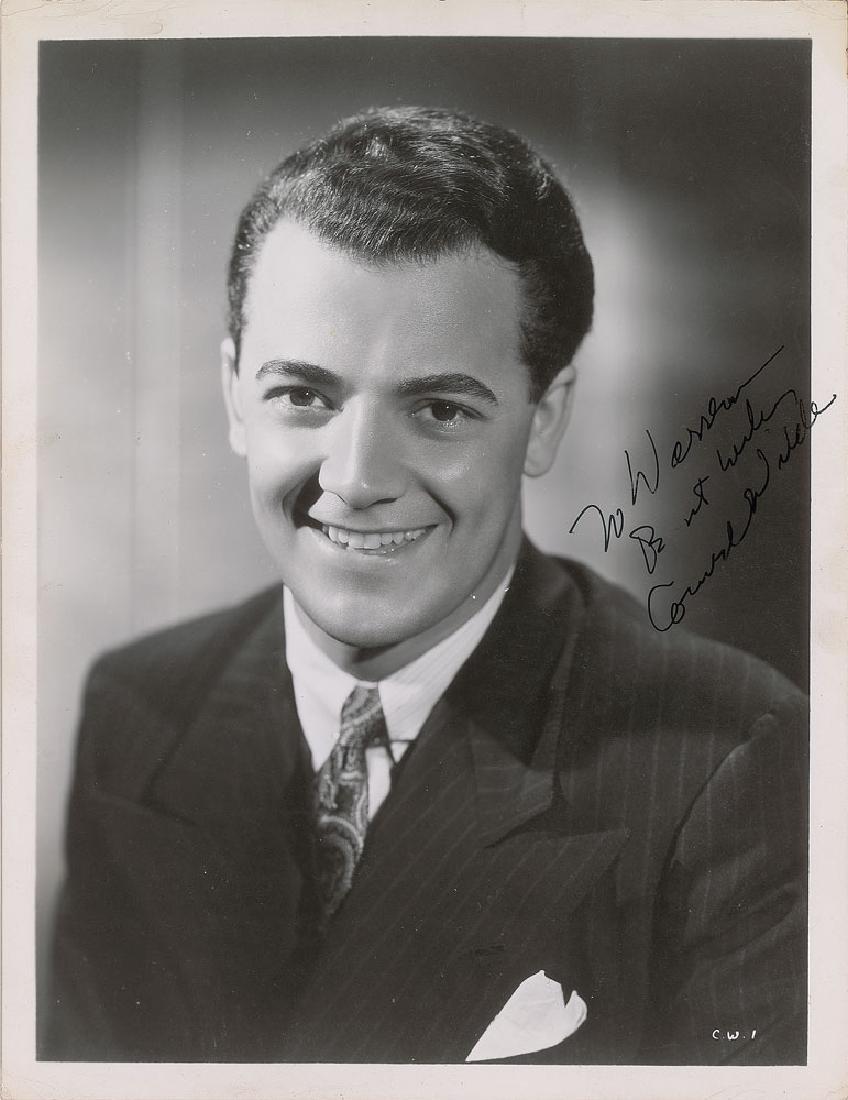 Cornel Wilde Signed Photograph