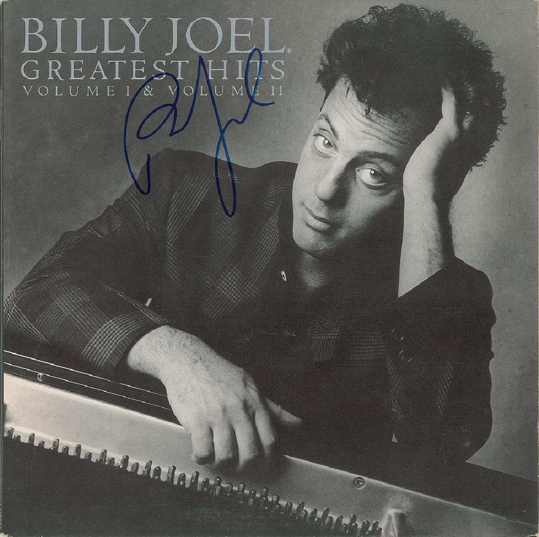 Billy Joel Signed Album
