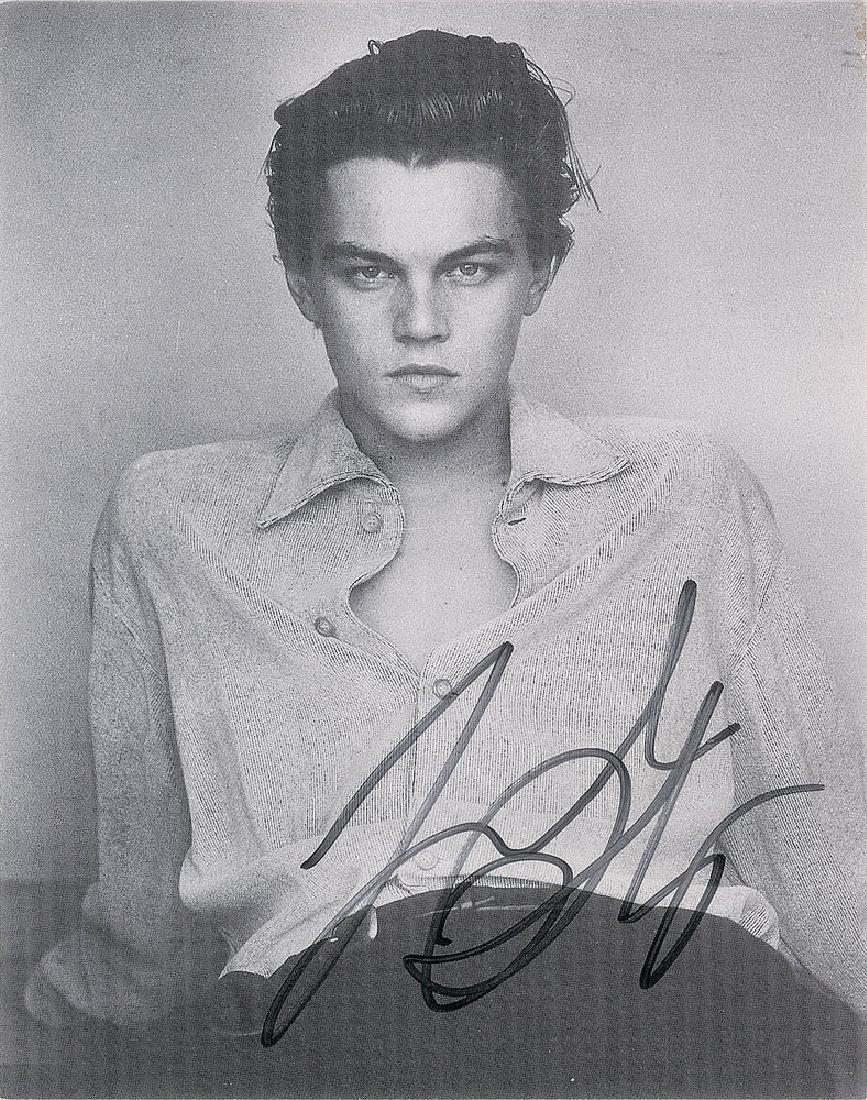 Leonardo DiCaprio Signed Photograph
