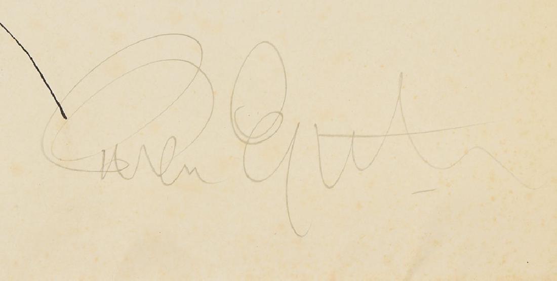 Brian Epstein Signed Program - 2