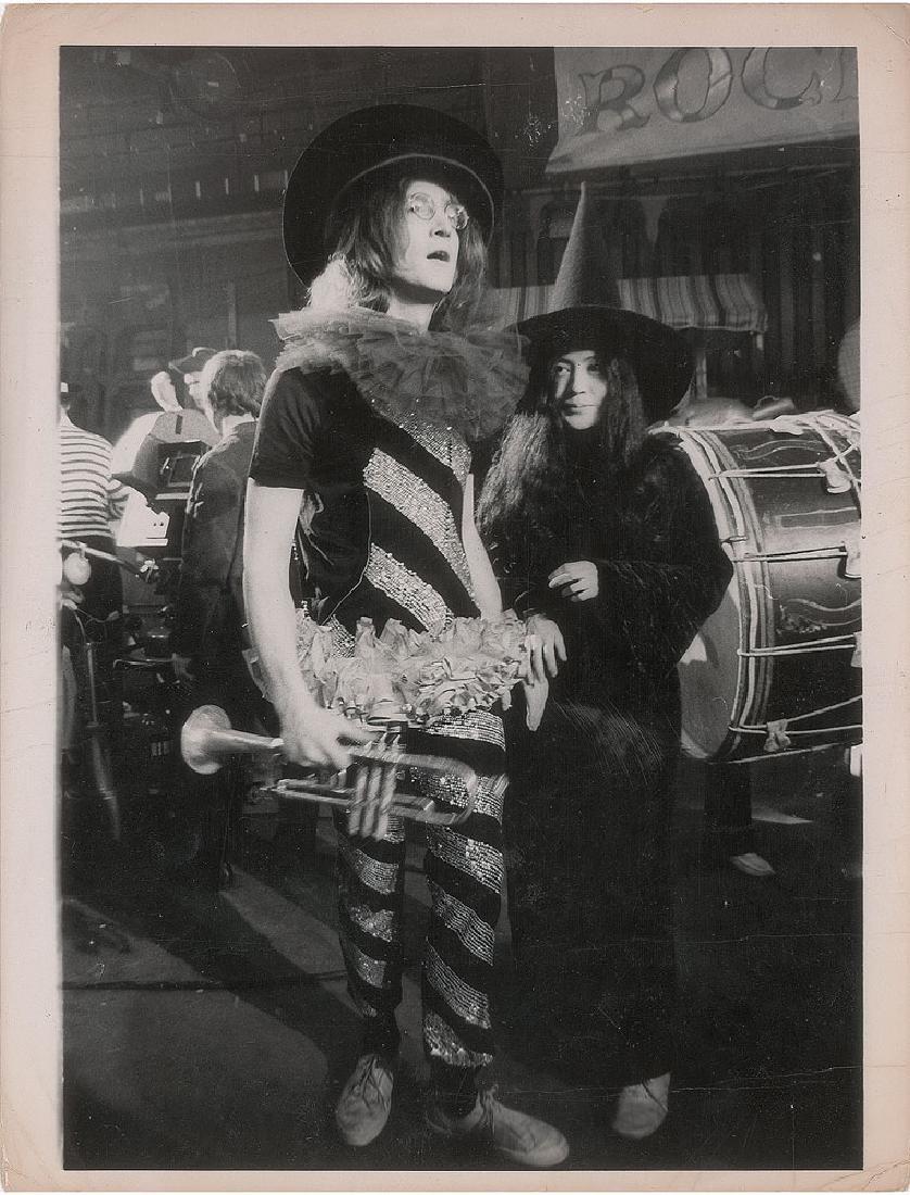John Lennon and Yoko Ono Original Vintage Photograph