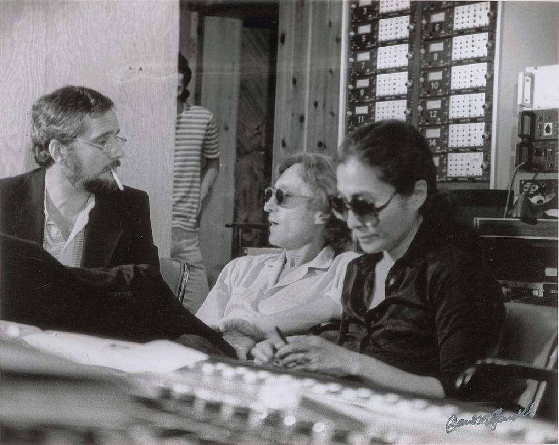 John Lennon and Yoko Ono Original Photograph