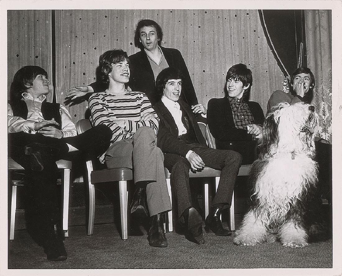 Rolling Stones and Phil Spector Photograph