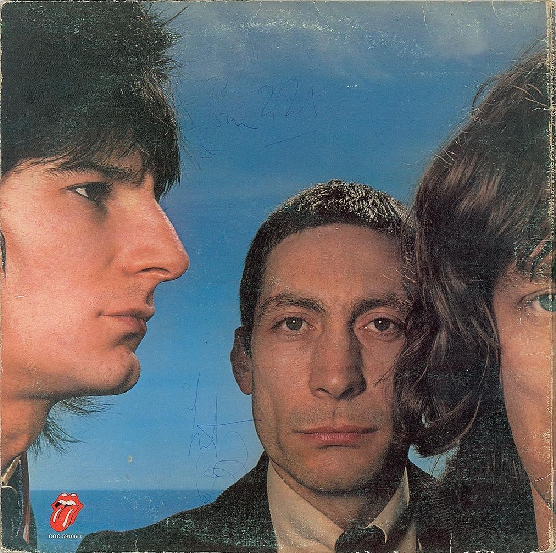 Rolling Stones Signed Album - 2