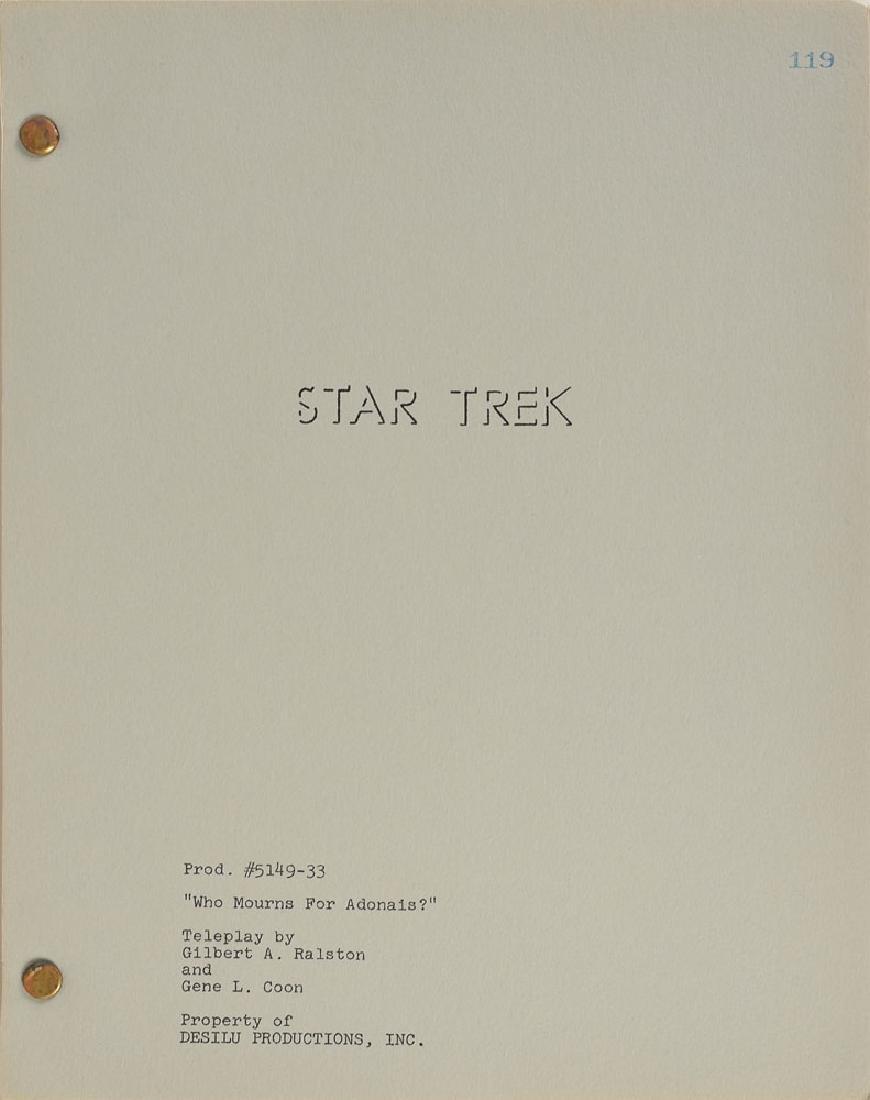 Original Star Trek Script