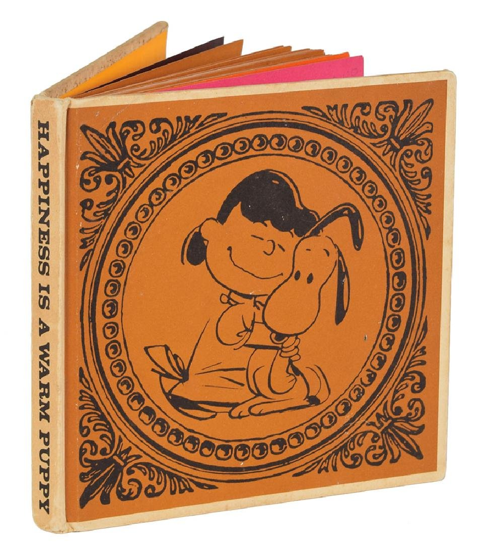 Charles Schulz Signed Book - 2