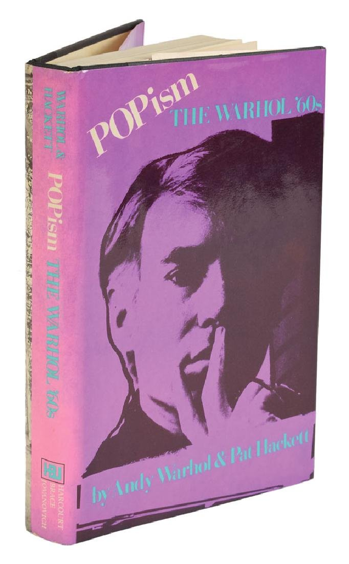 Andy Warhol Signed POPism Book - 2
