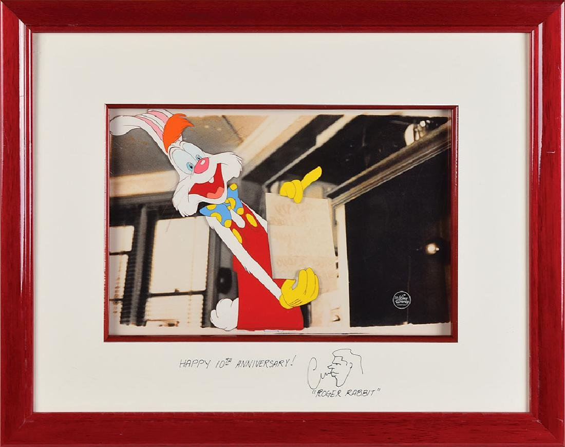 Roger Rabbit production cel from Who Framed Roger Rabbit?
