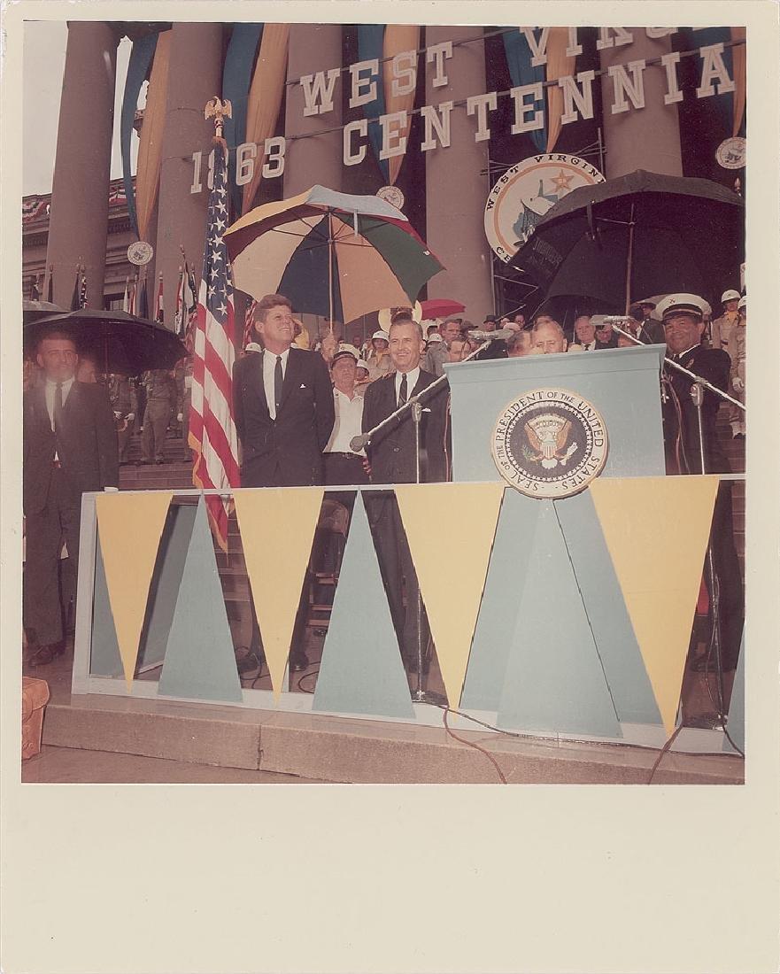 John F. Kennedy Original Vintage Photograph by Cecil Stoughton