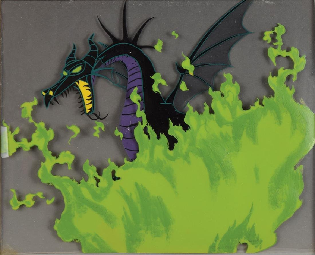 Maleficent production cel from Sleeping Beauty - 2