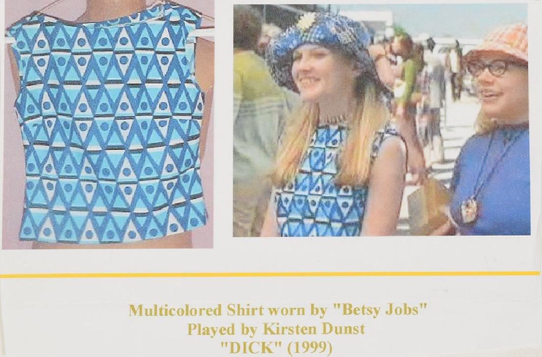 Kirsten Dunst Screen-Worn Shirt from Dick - 2