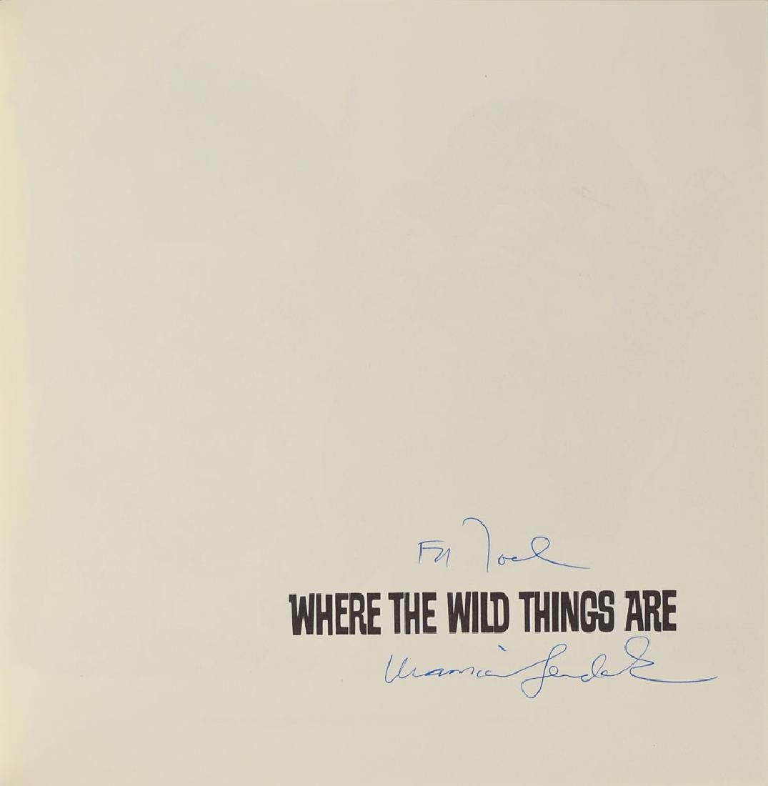 Maurice Sendak Signed Book