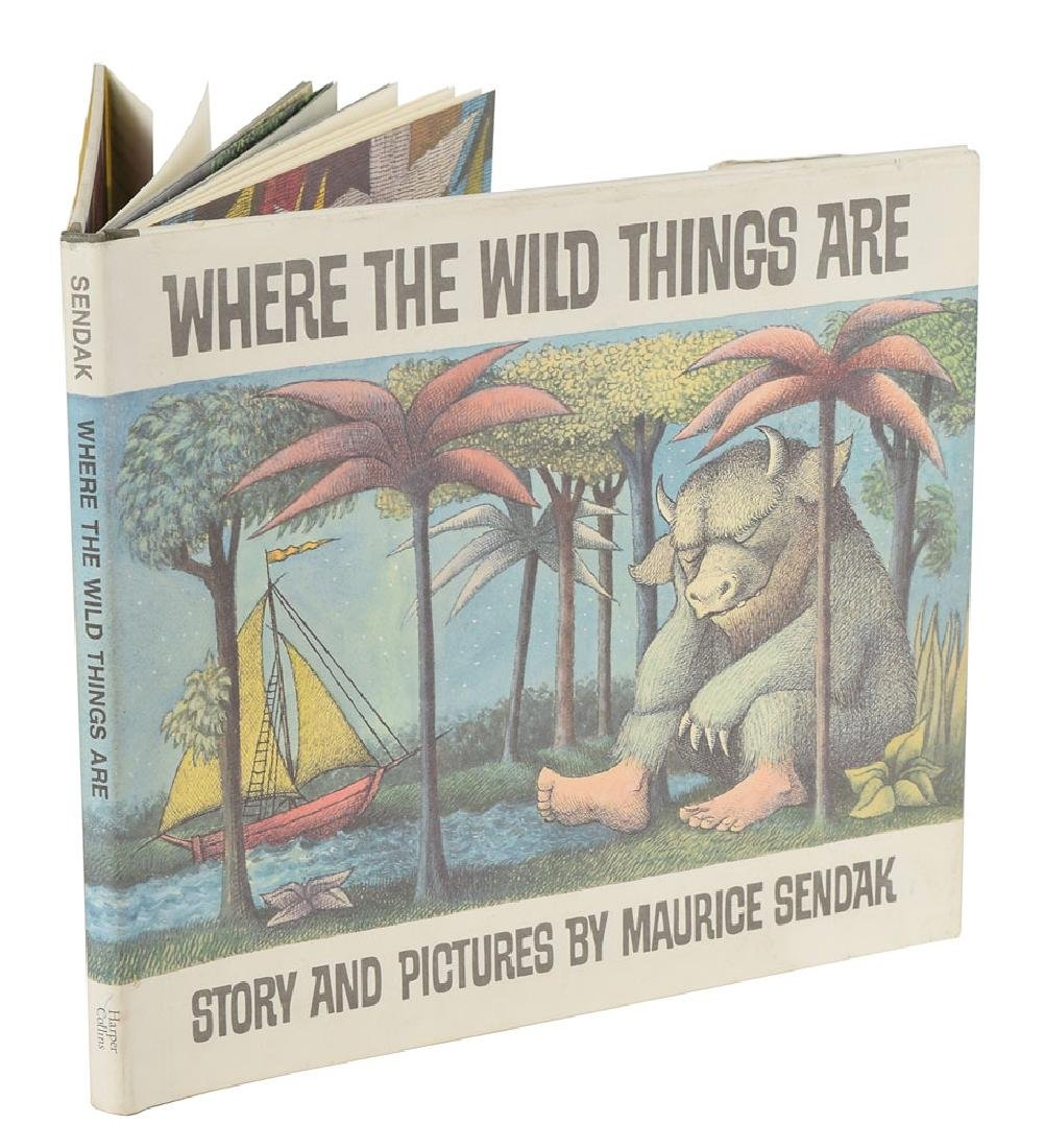 Maurice Sendak Signed Book - 2