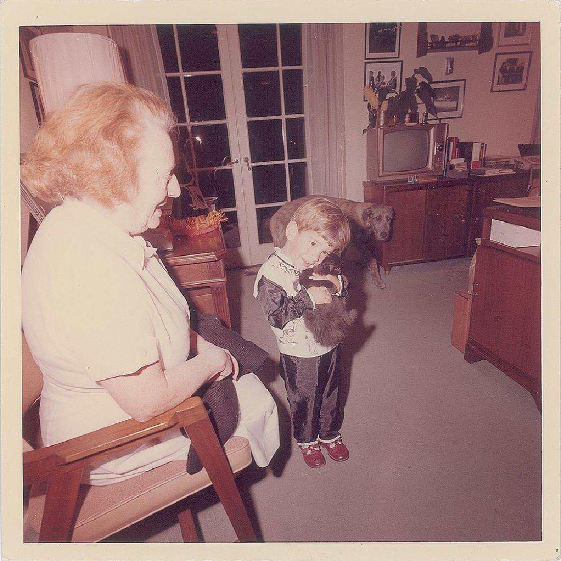 John F. Kennedy, Jr. Original Vintage Photograph by Cecil Stoughton