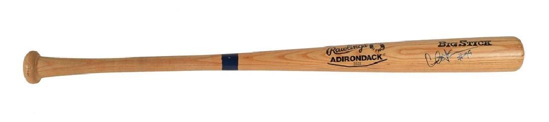 Charlie Sheen Signed Baseball Bat