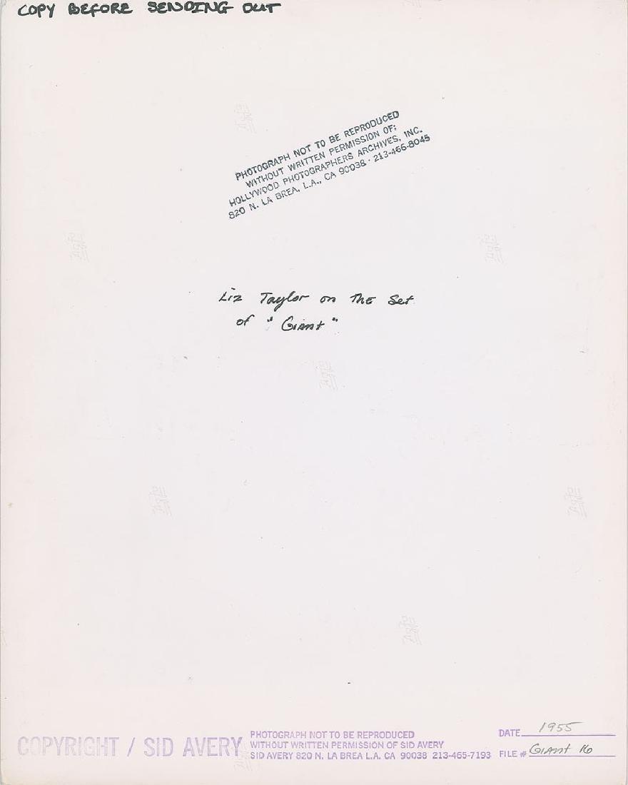 Elizabeth Taylor Original Photograph - 2
