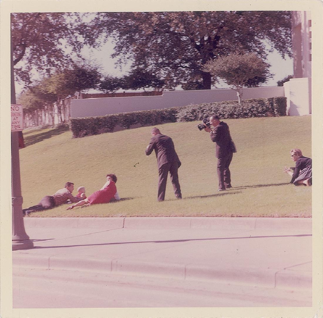 John F. Kennedy Assassination Original Vintage Photograph by Cecil Stoughton