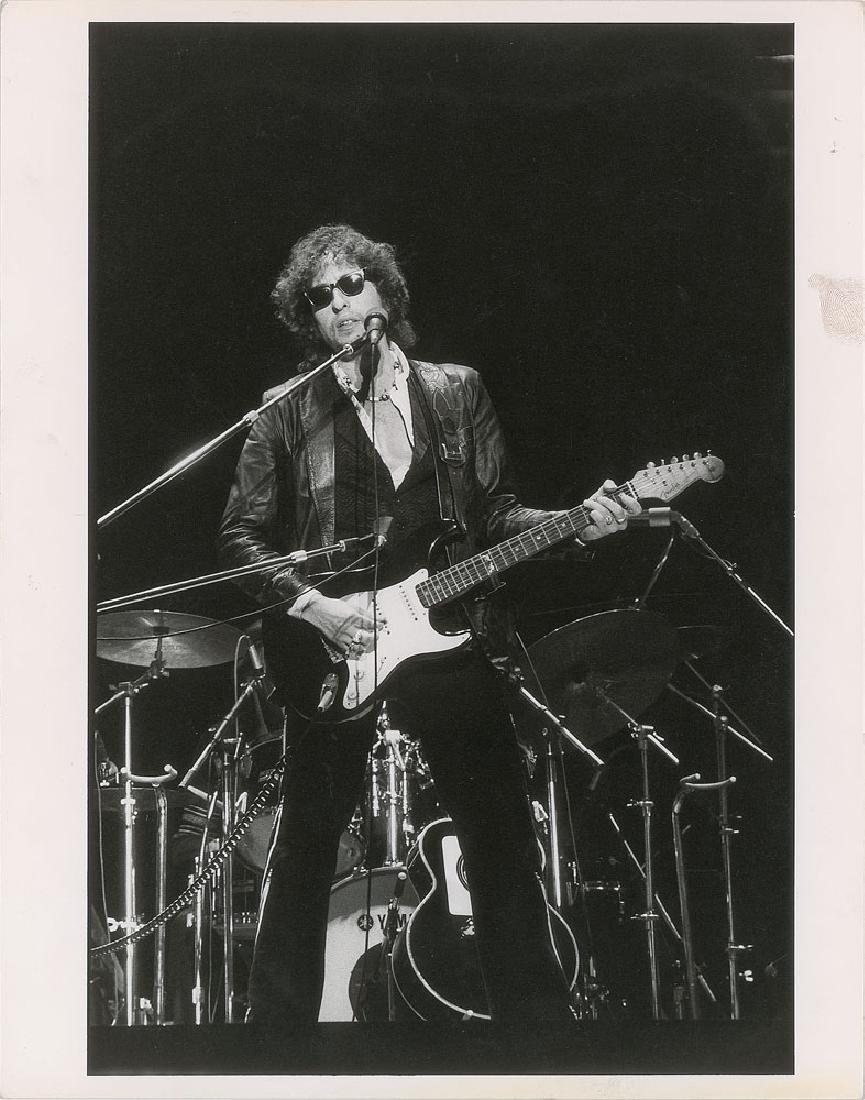Bob Dylan Oversized Original Vintage Photograph