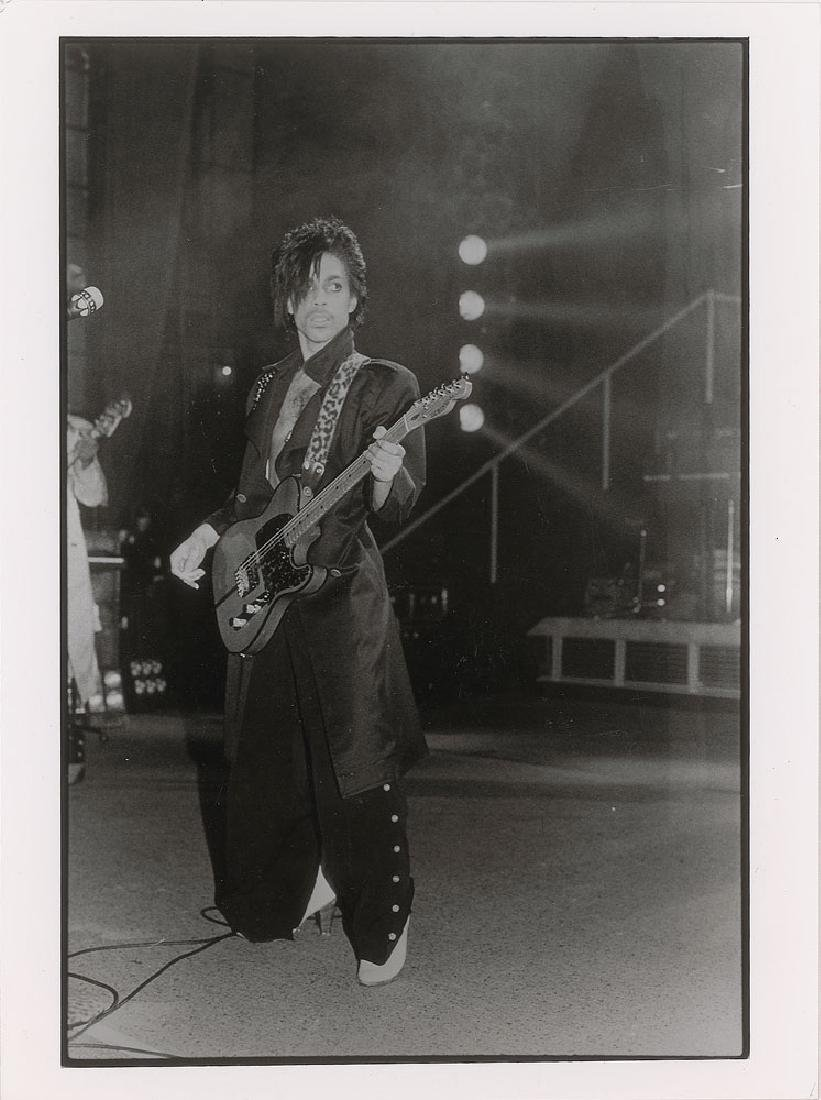 Prince 1981 Dirty Mind Tour Original Vintage Photograph