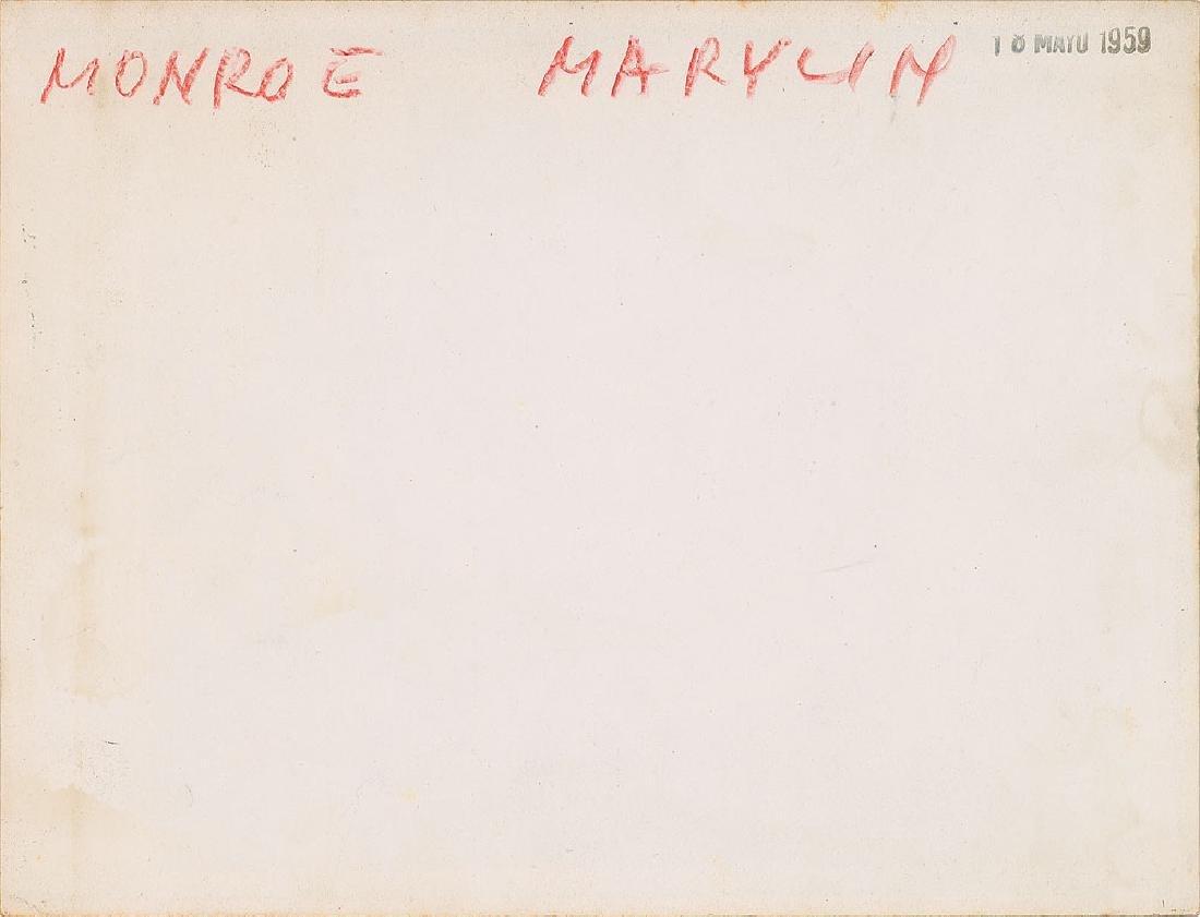 Marilyn Monroe Original Vintage Photograph - 2