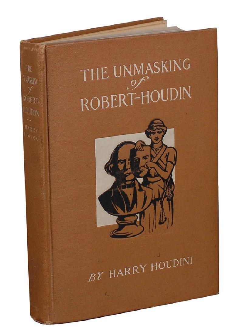 Harry Houdini Signed Book - 2