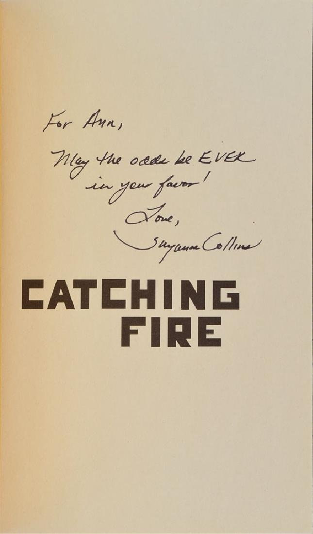 Suzanne Collins Signed Book