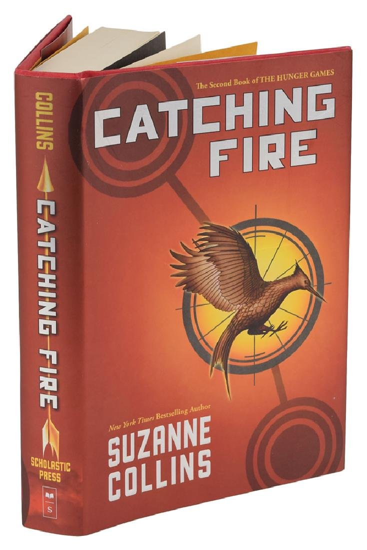 Suzanne Collins Signed Book - 2