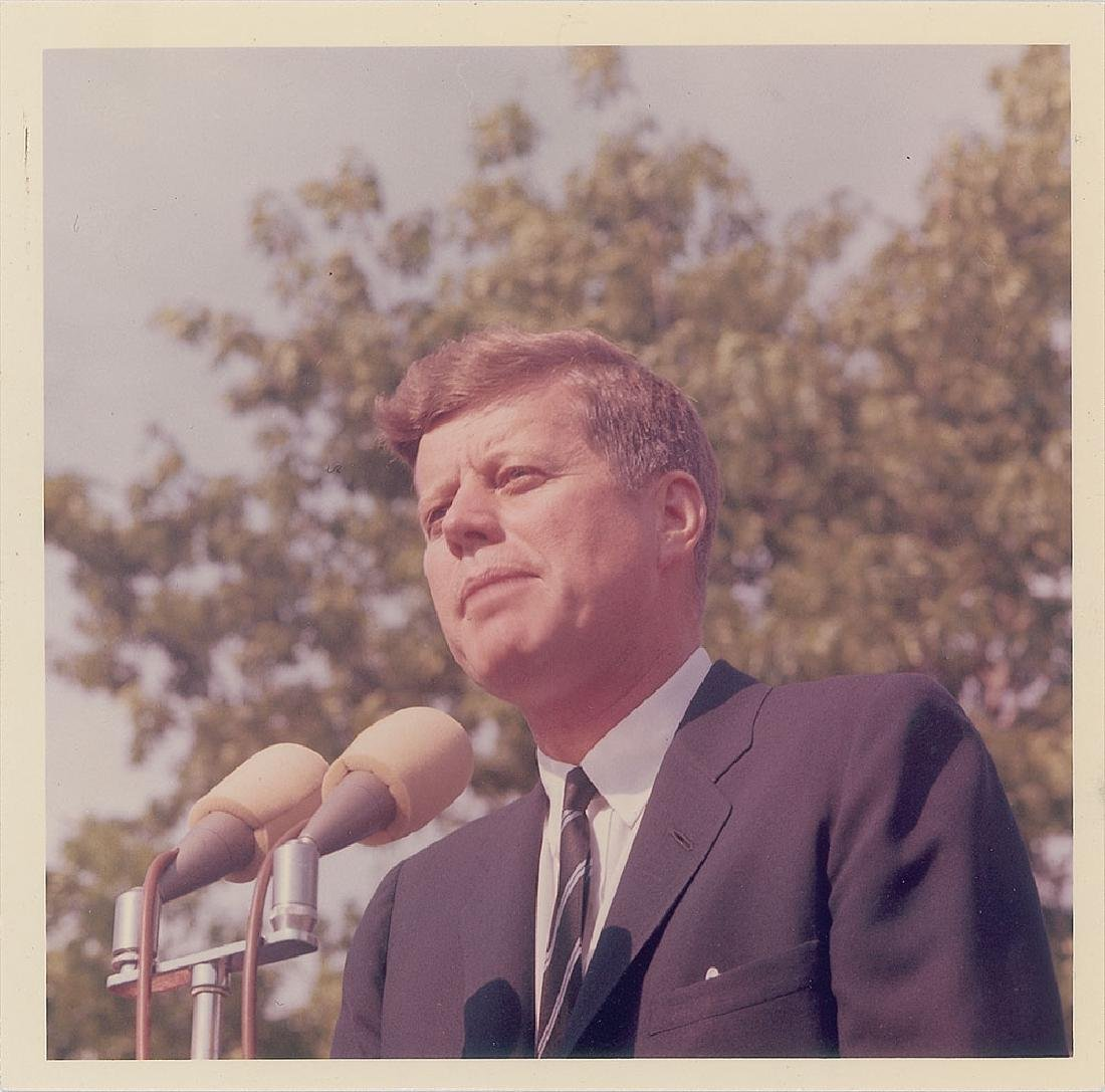John F. Kennedy Original Vintage Photograph by Cecil Stoughton