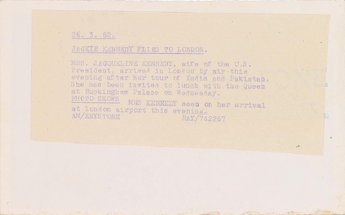 Jacqueline Kennedy Original Photograph - 2