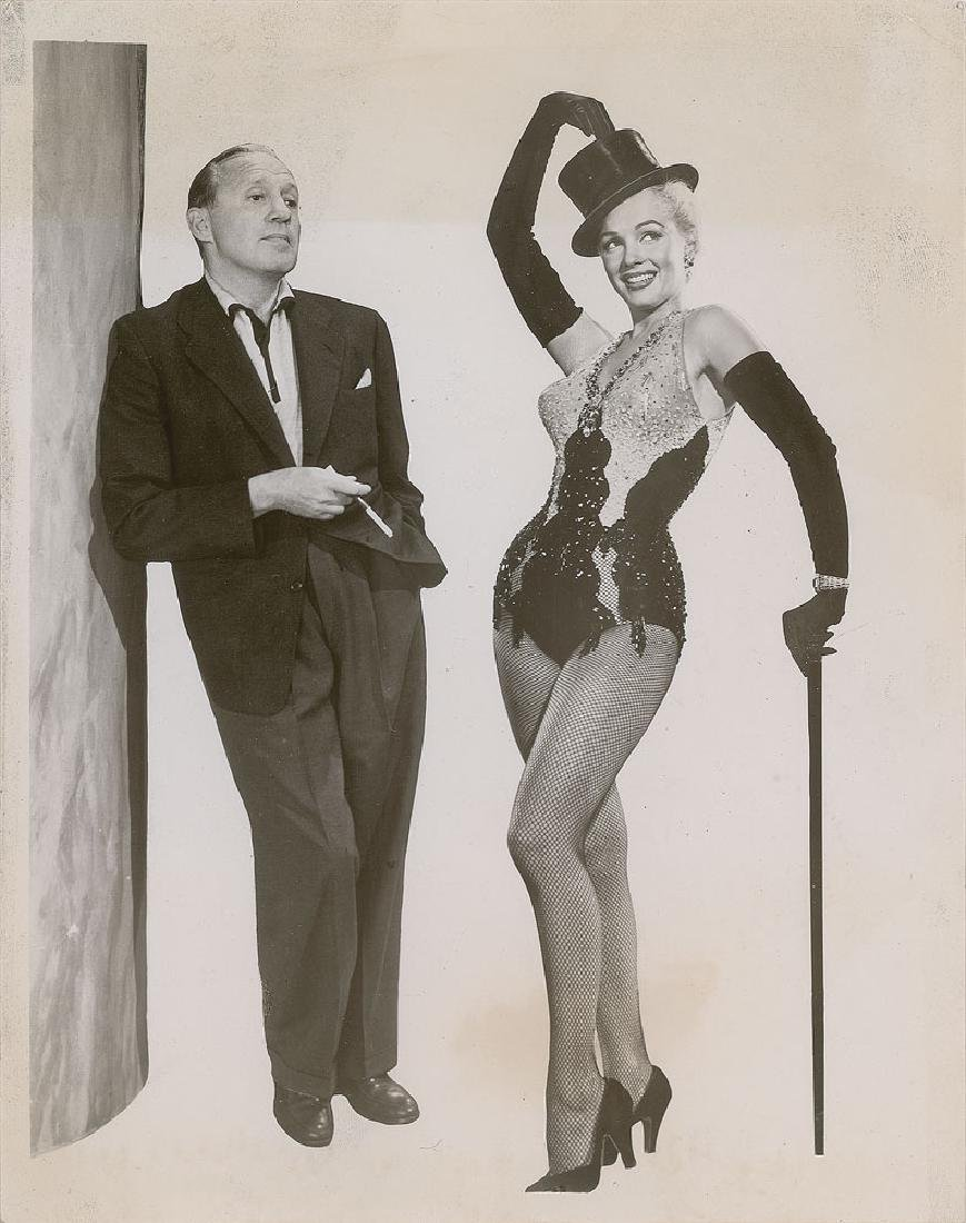 Marilyn Monroe and Jack Benny Original Vintage Photograph