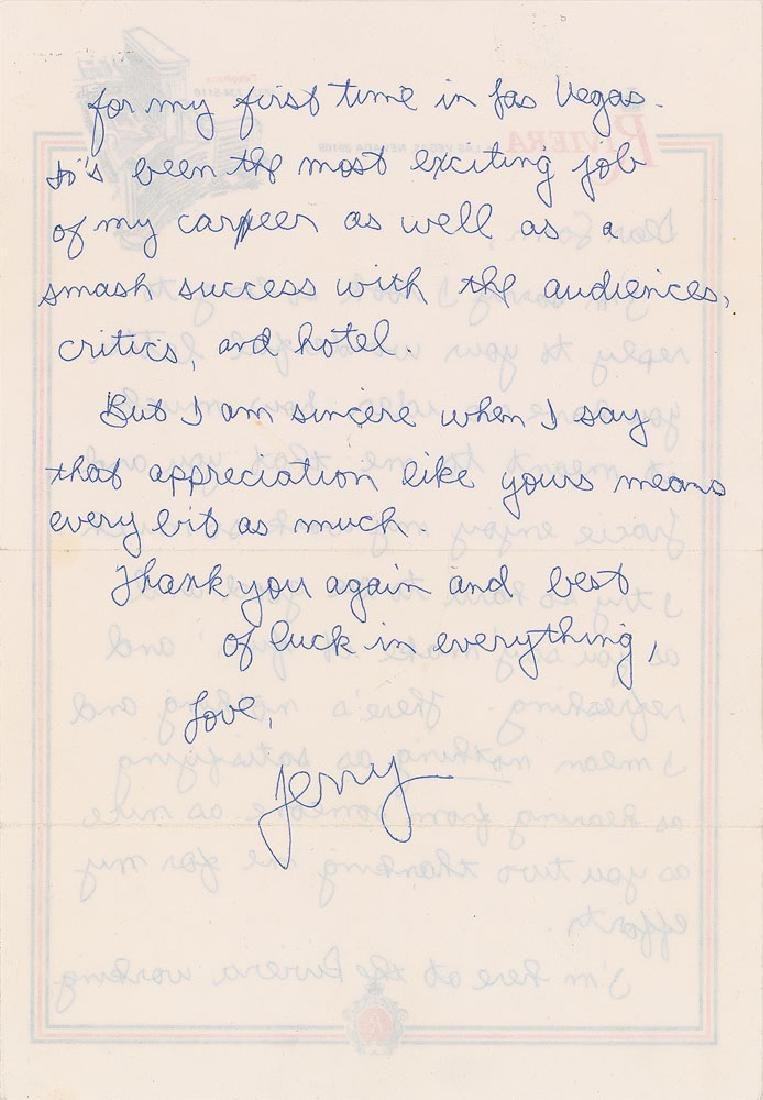 Jerry Seinfeld Autograph Letter Signed - 2