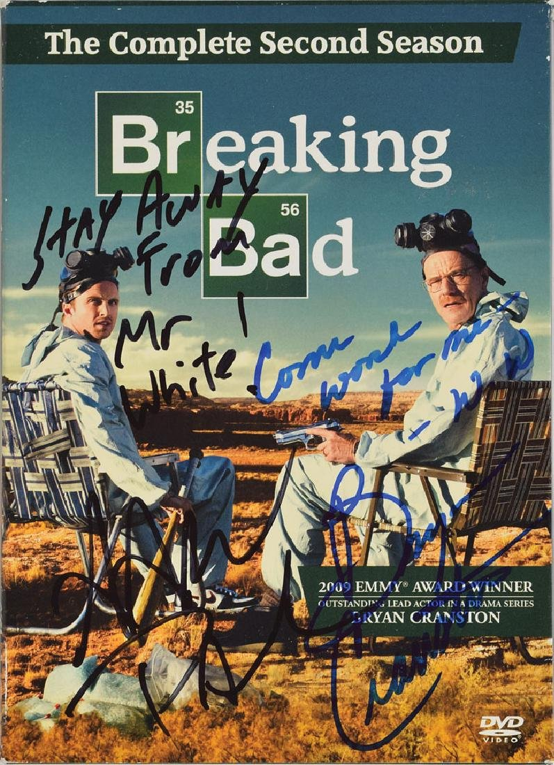 Breaking Bad Signed DVD