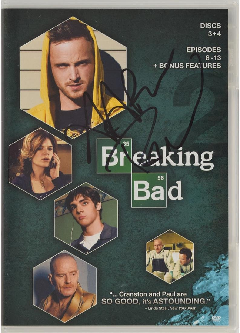 Breaking Bad Signed DVD - 2