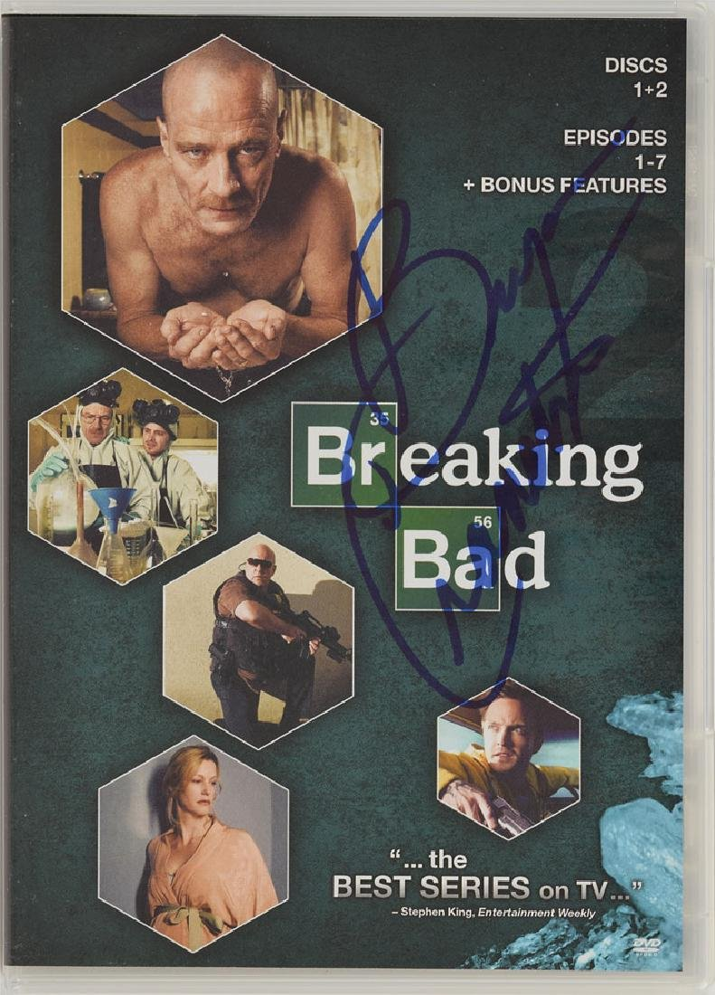 Breaking Bad Signed DVD - 3