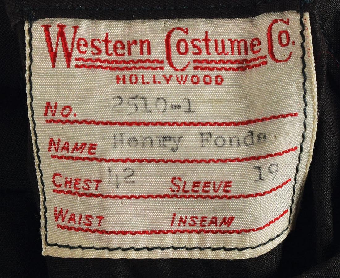 Henry Fonda Screen-Worn Jacket - 2