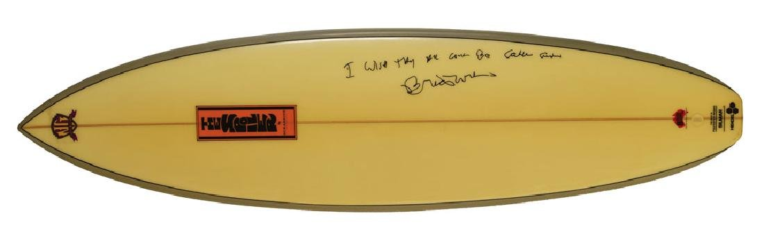 Brian Wilson Signed Surfboard