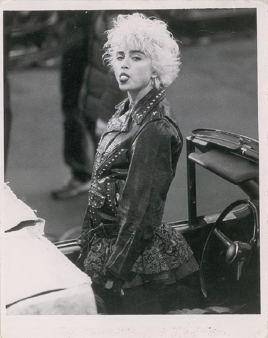 Madonna Original Vintage Photograph