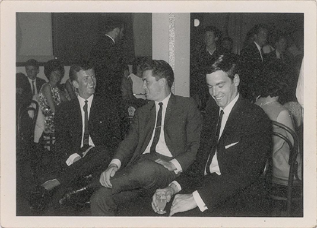 John Lennon and George Harrison 1963 Signatures - 2