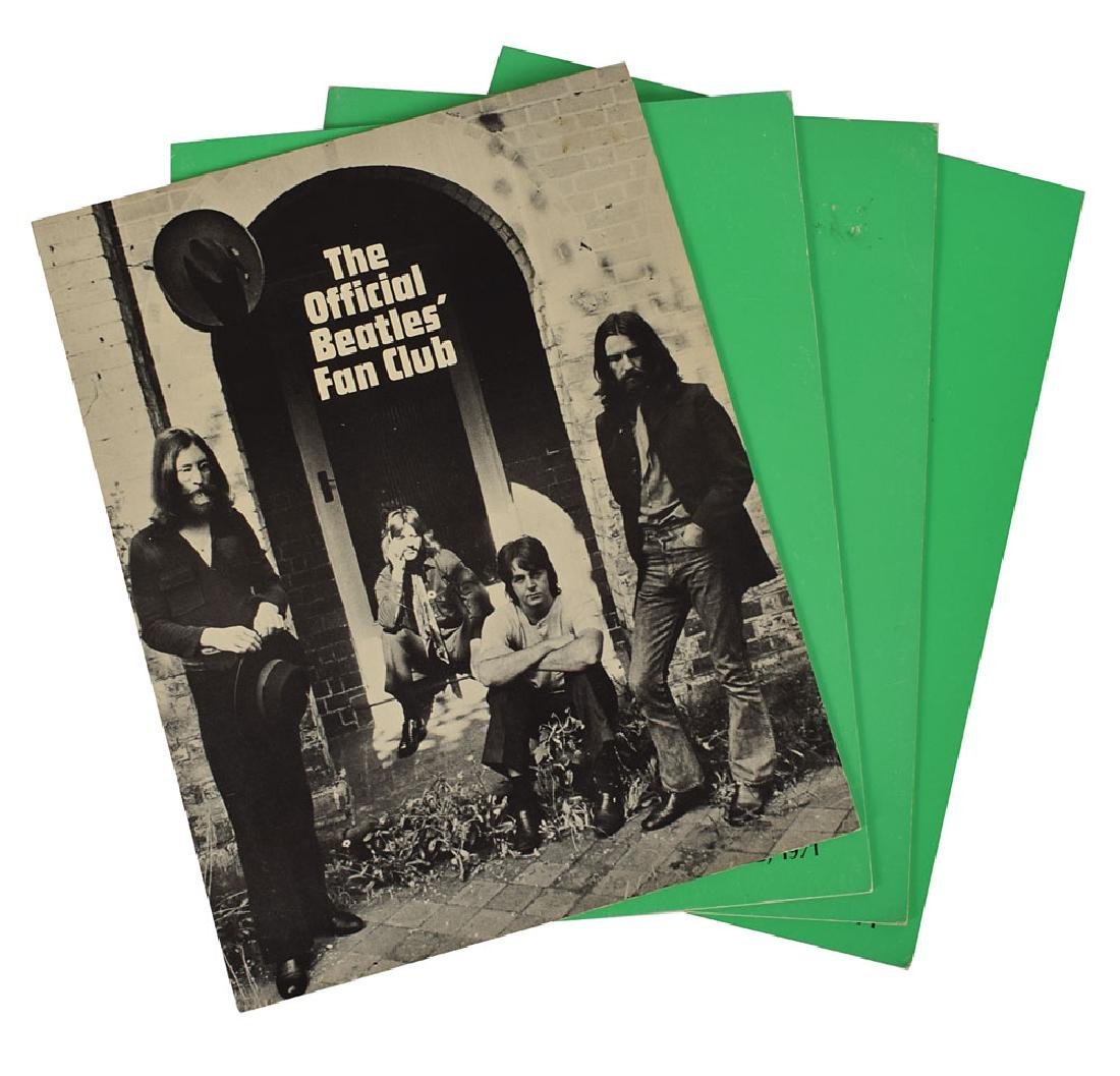 Beatles Group of Fan Club Materials - 2