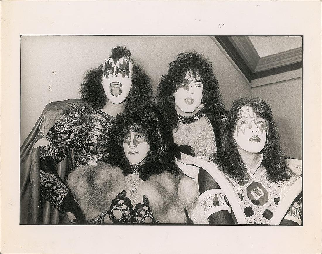 KISS Oversized Photograph