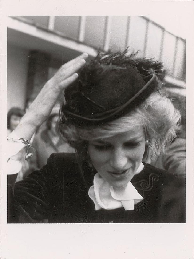 Princess Diana Pair of Original Vintage Early 1980s Photographs