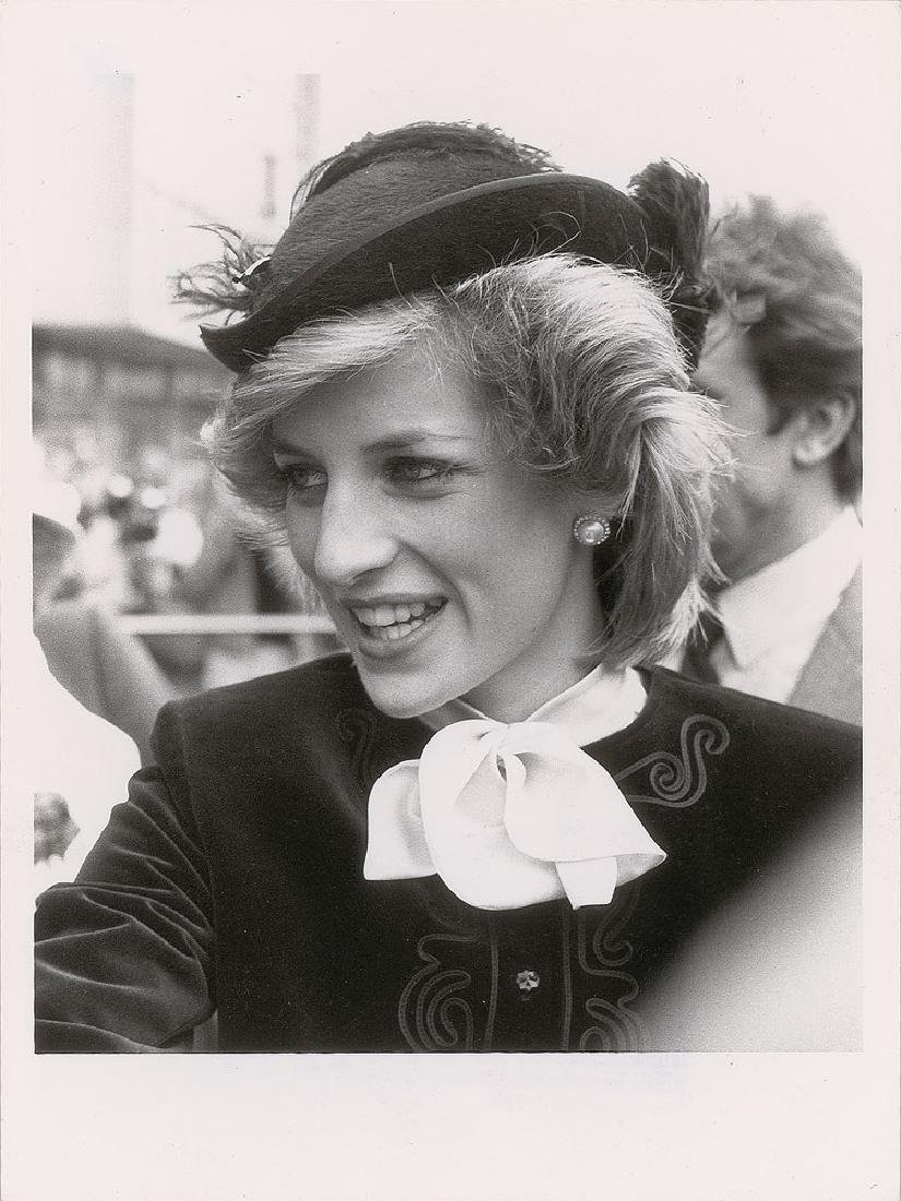 Princess Diana Pair of Original Vintage Early 1980s Photographs - 2
