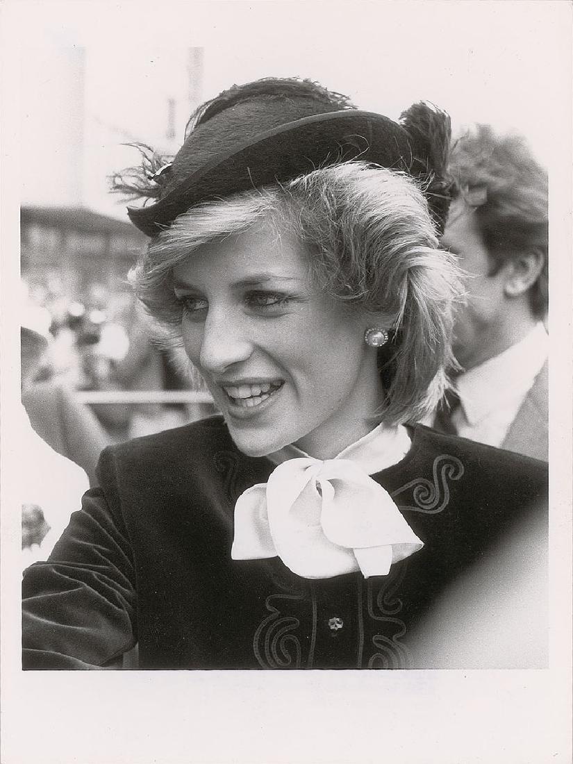 Princess Diana Pair of Original Vintage Early 1980s Photographs - 2