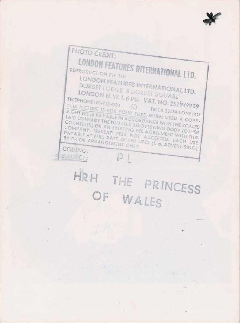 Princess Diana Pair of Original Vintage Early 1980s Photographs - 4