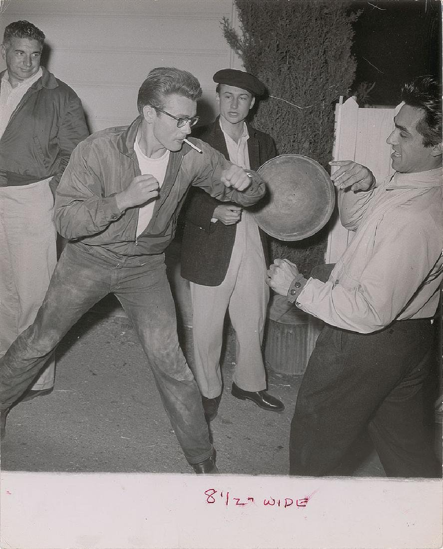 James Dean Set of (4) Original Phil Buchman Photographs