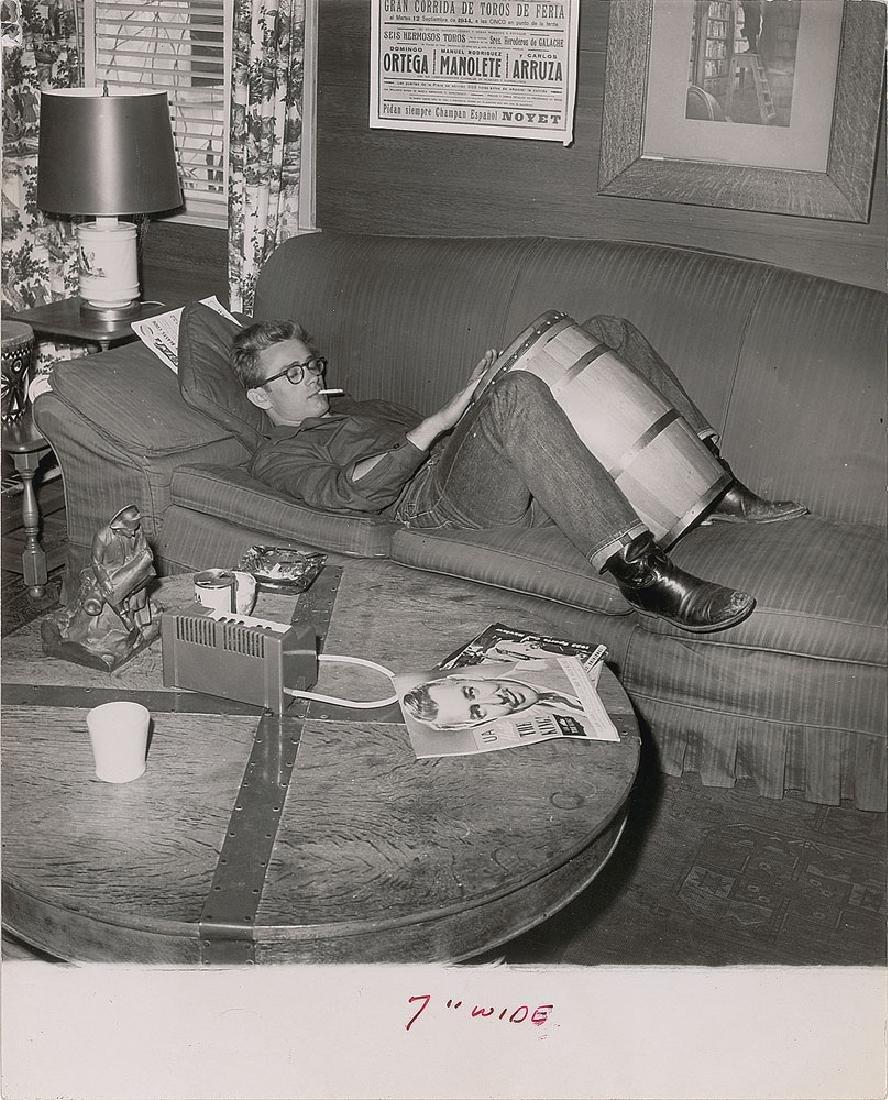 James Dean Set of (4) Original Phil Buchman Photographs - 2