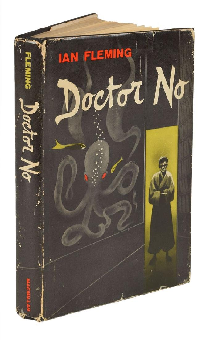 Ian Fleming 'Doctor No' First American Edition Book